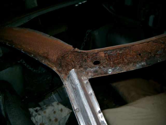 fix rust on car roof