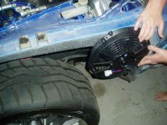 fender cooling fan