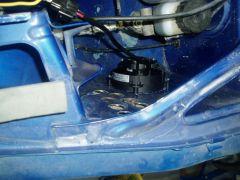 fender vent installed