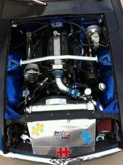 LT1 engine with Radiator ducting