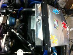 Champion 4-Row Monster Series Radiator