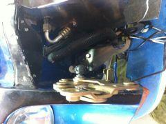 Gas schock hood conversion
