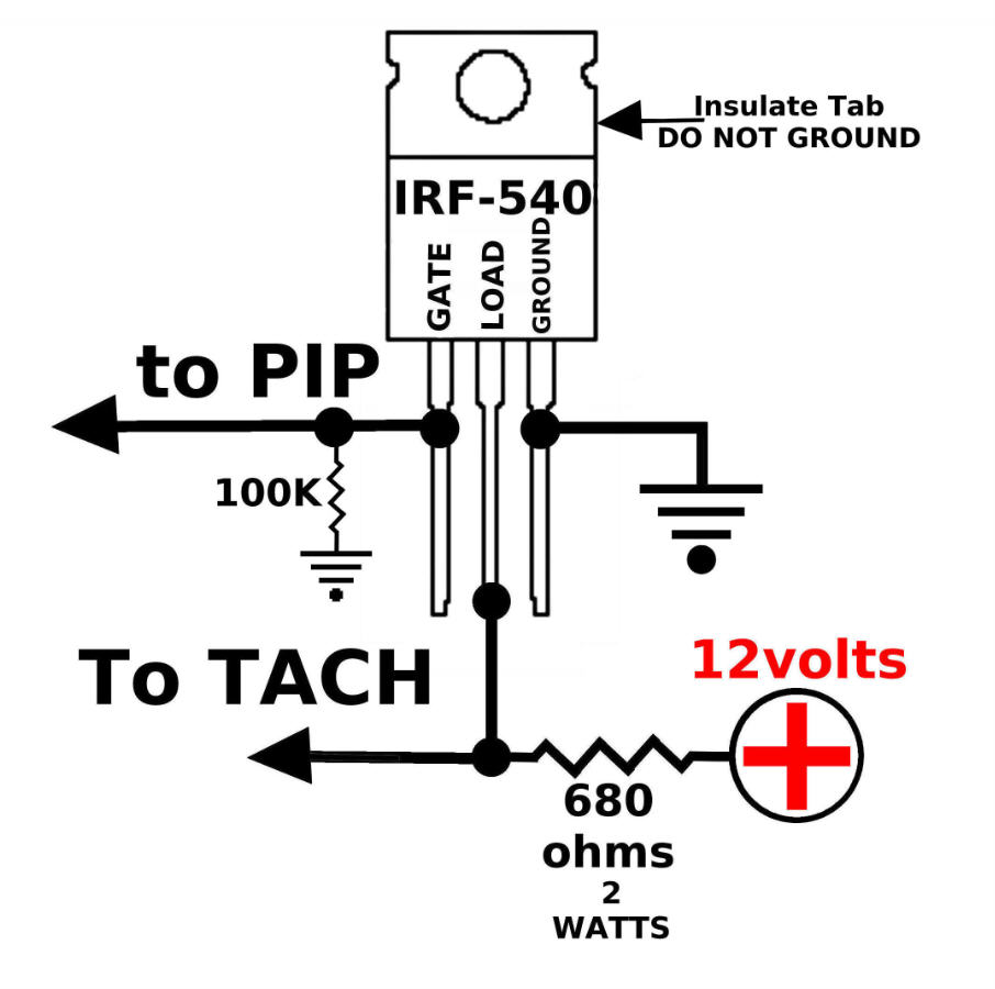 tach wiring diagram tachometer also ford edis ignition