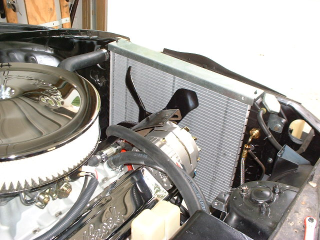 JTR Radiator and mount