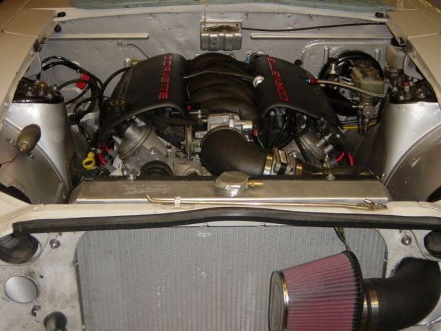 ls1 front view with air cleaner