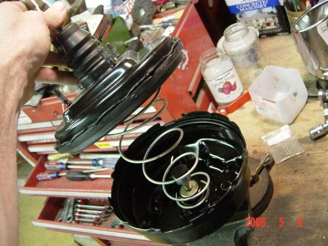 vacuum booster apart