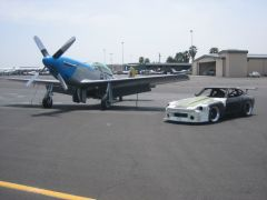 P51 Mustang and GT 240