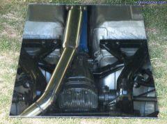 R33 rear subframe in a S30z