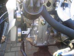 New crankcase breather fitting