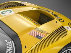 2006 Chevrolet Corvette C6 R Hood Scoop