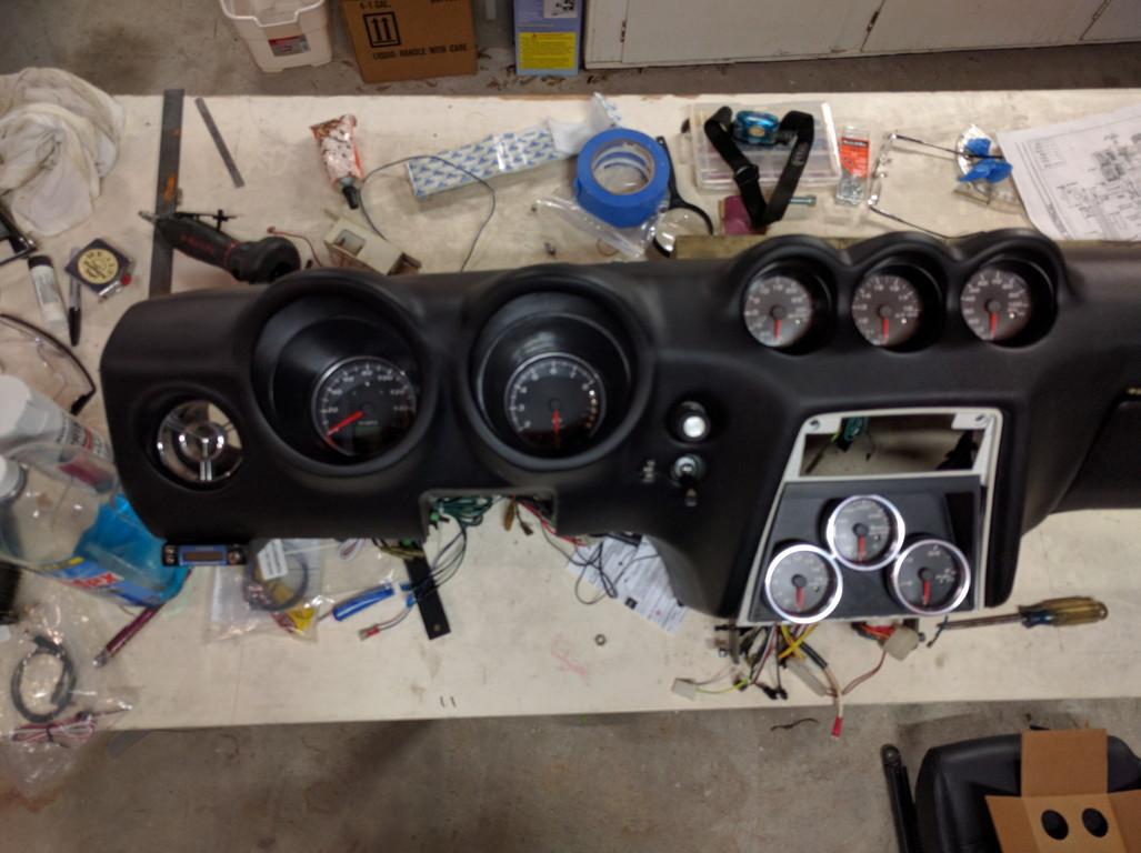 240z Gauge Panel - In-work