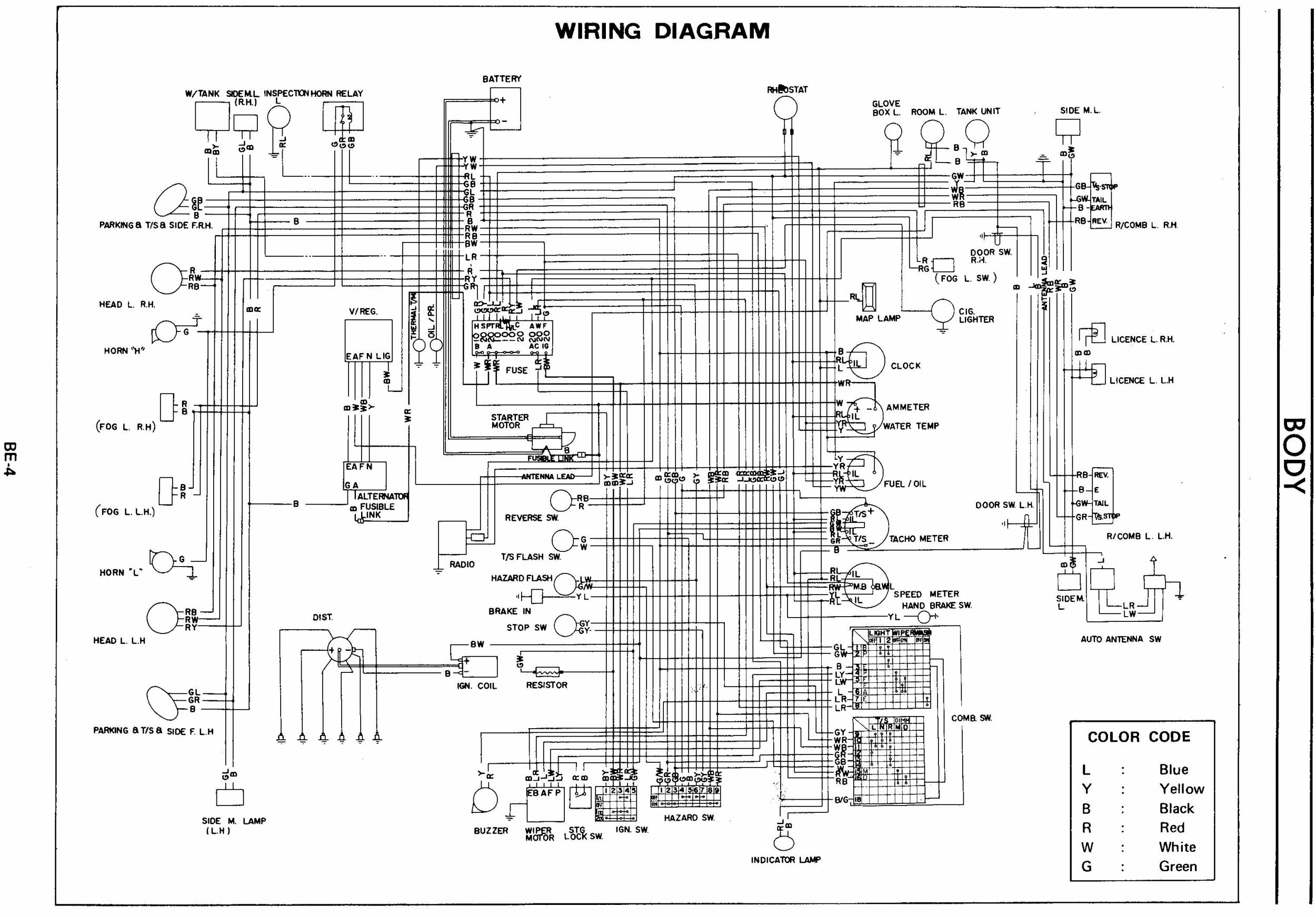 260z wiring electrical online circuit wiring diagram u2022 rh electrobuddha co uk