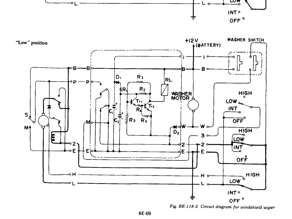 Understanding the 260z and    280z    wiper circuit Reverse
