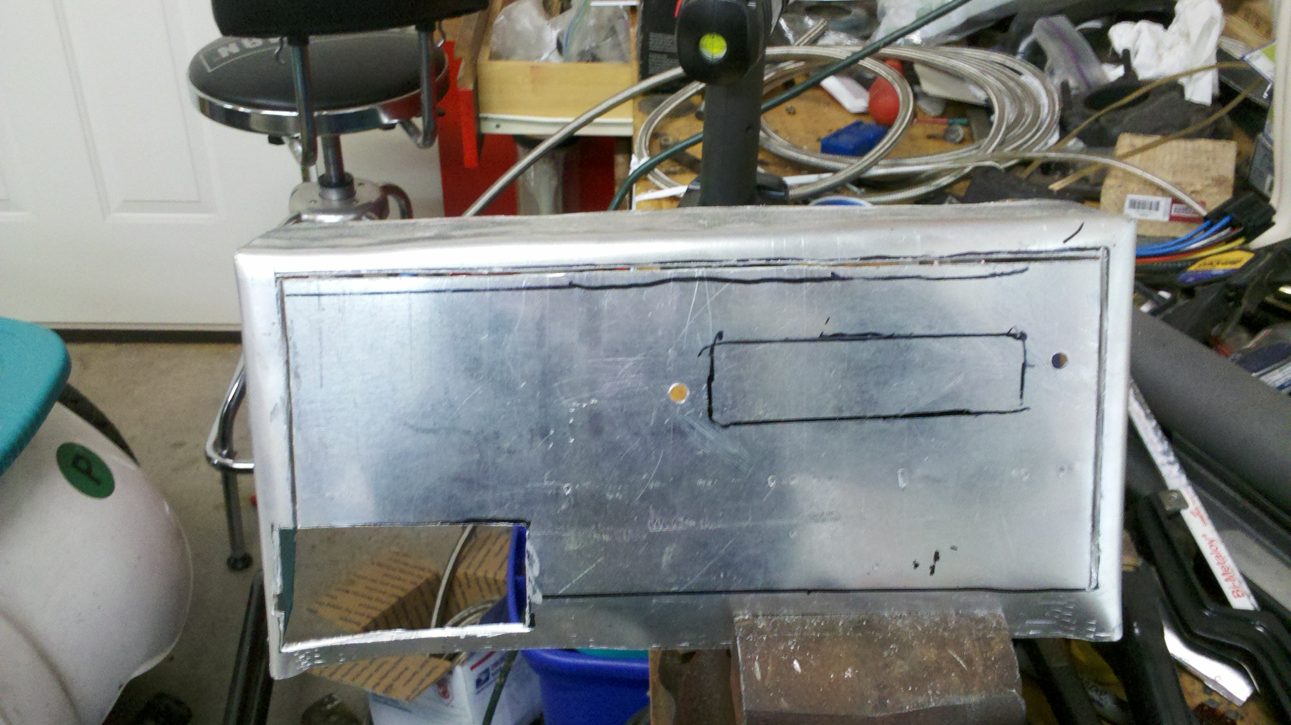 Glove Box Mounting of MS and Fuse Box - MegaSquirt - HybridZ