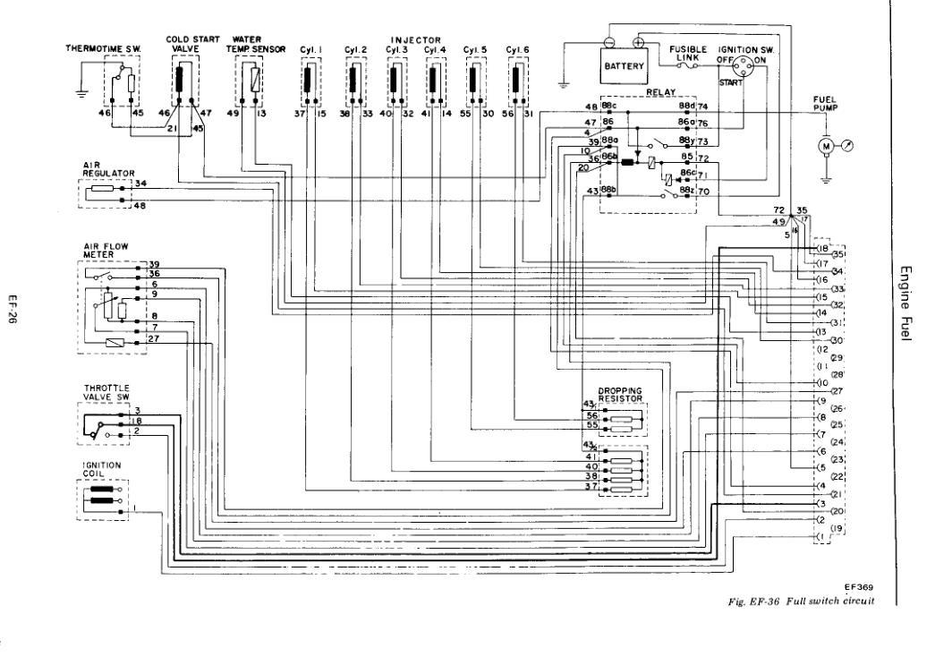 Gemütlich Schaltplan Für 280z V8 Zeitgenössisch - Elektrische ...