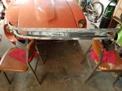 Front valance repair