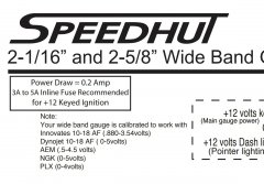 speedhut manual