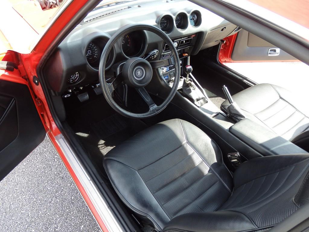 1977 datsun 280z interior