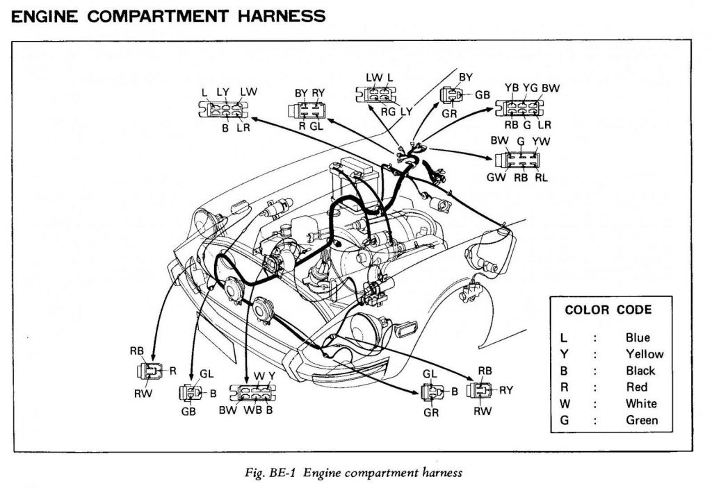 240z Engine Compartment Harness - Members Albums
