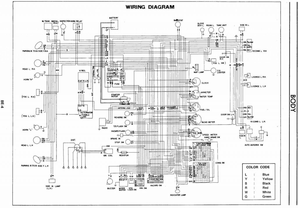 240z wiring diagram - members albums