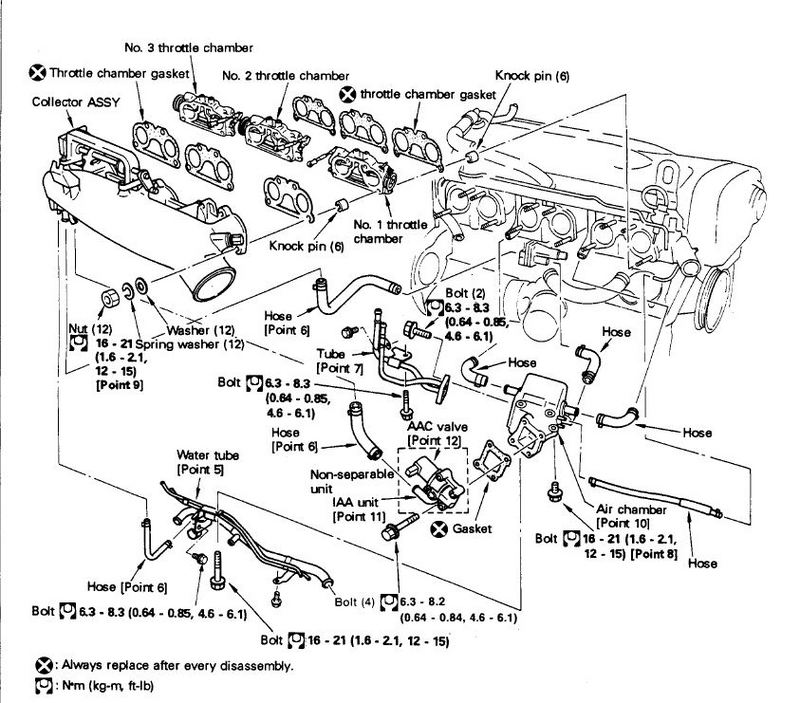 Intake on Nissan Air Intake Diagram