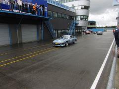 In pit lane