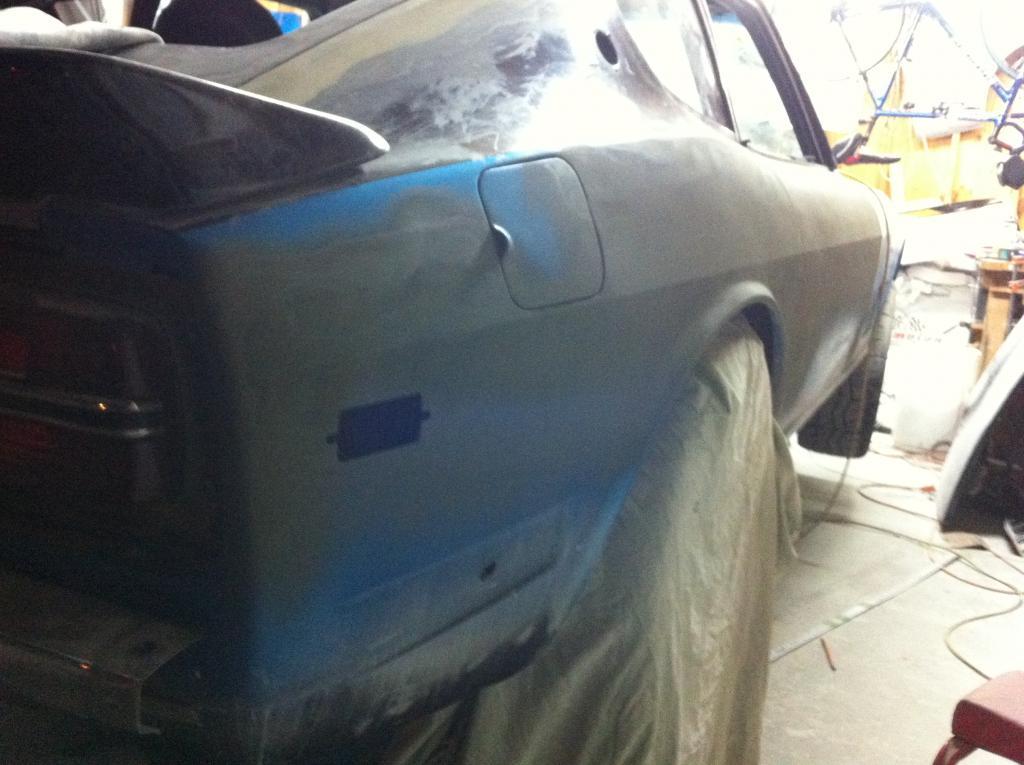 Improved Body Line Rear Quarter Panel