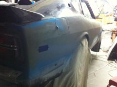 Improved Body Line Rear Quarter Panel