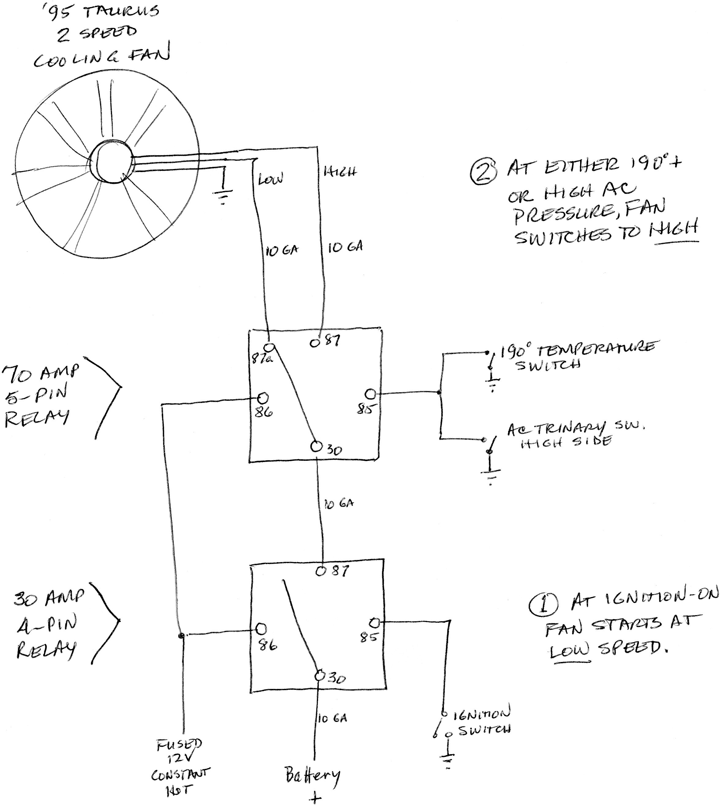 Wiring Questions 77 280z To 90 Tpi T 5 Gen I Ii Chevy V8 Thermo Switch 30 Amp Relay Diagram Colling Fan Circuit Thumb