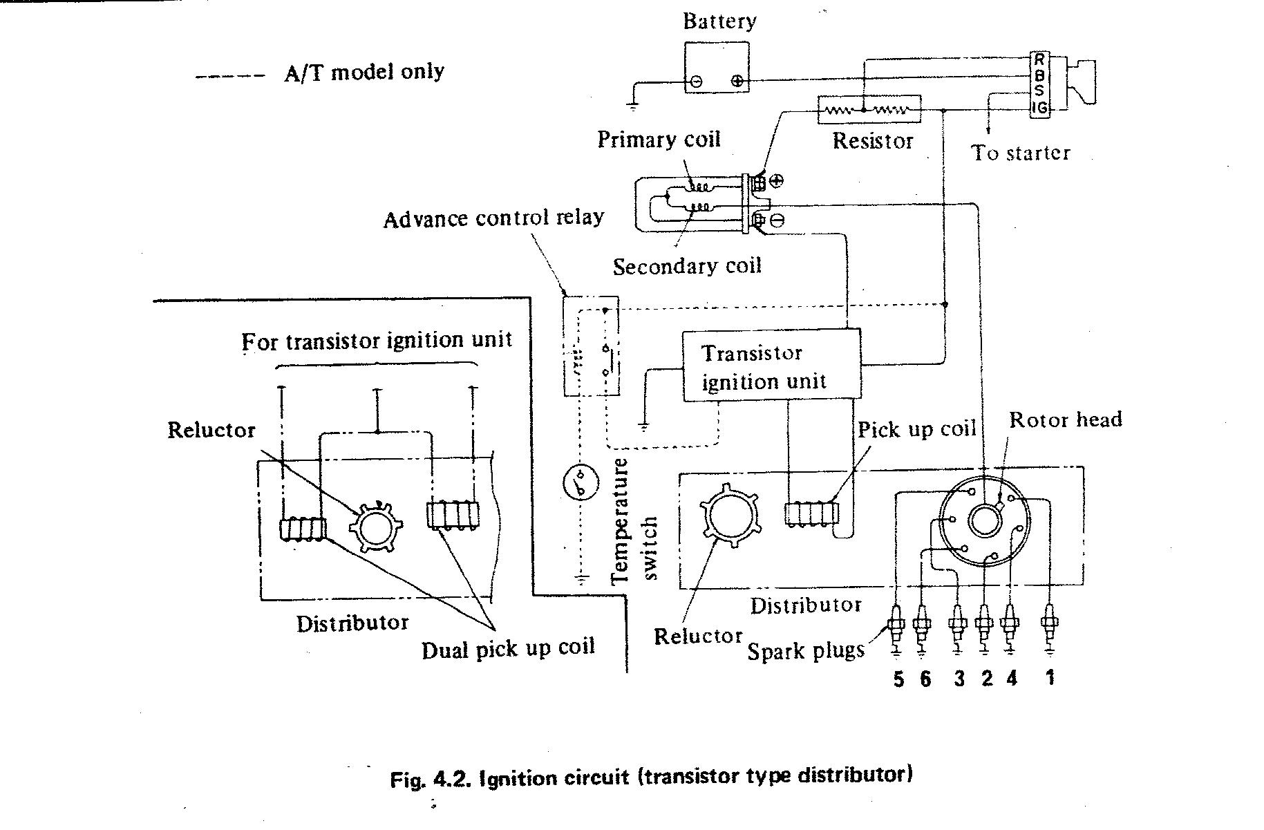 Wiring Stock Dizzy & Coil => 260z to 280z wiring - Page 2 ...
