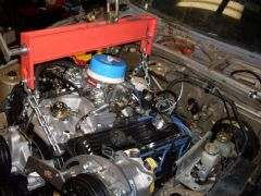 78 Z car (230)  putting it out after test fit