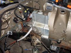 78 Z car (233)  extra piece added for brake line heat shield