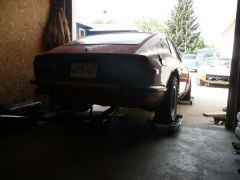 73' 240z donor car