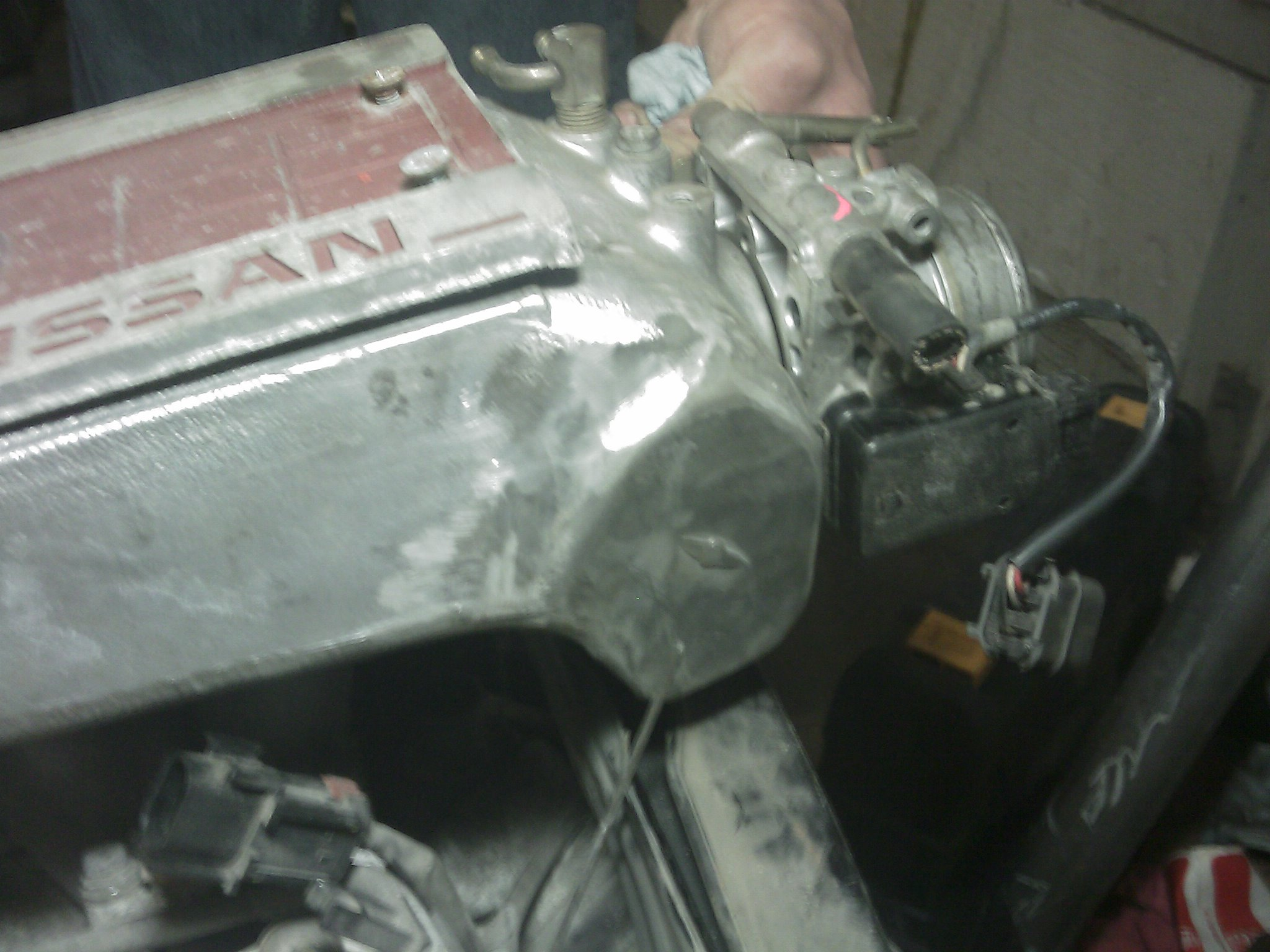 HEHE Z31 Stock intake fits Backwards!!! - Z31 Series - 300ZX