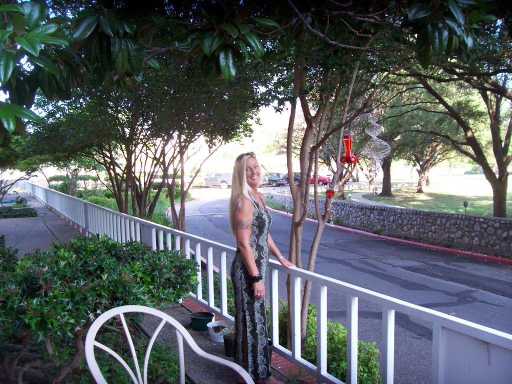 Tammi at the RIO CONCHO MANOR