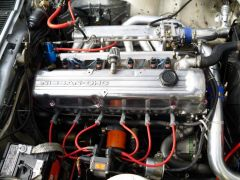 280zx engine with new turbo setup