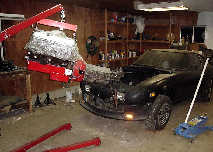 starting engine installation