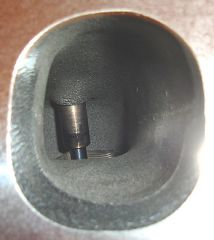 Brodix intake port before porting