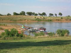 Family Boats, Beautiful Weather - Lake Wilson, KS