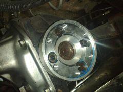 adaptor porsche axles