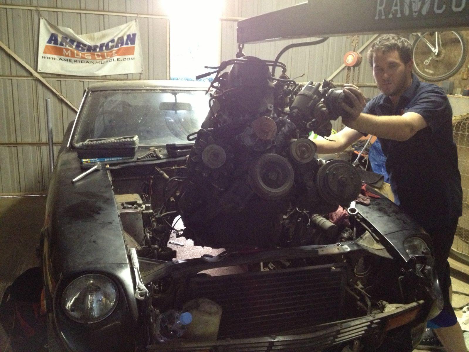 Pulling the Z motor