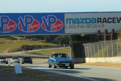 Entering turn 6 Laguna Seca