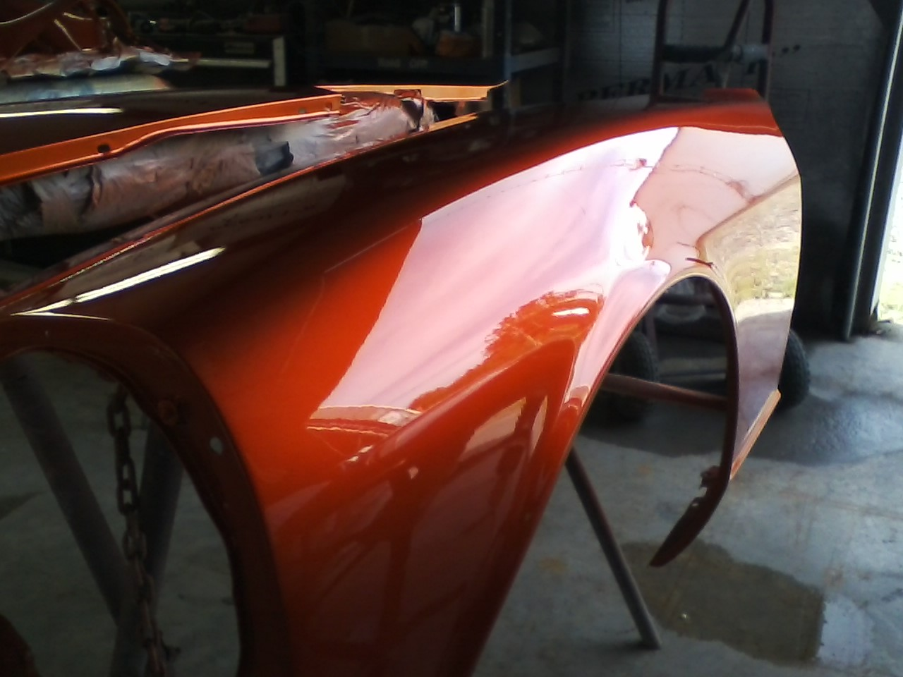 240Z getting some more paint