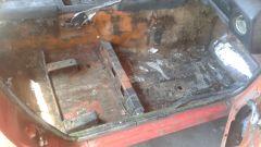 71 240z Floor pan