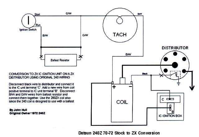 Ballast Resistor Wiring Diagram Nissan on