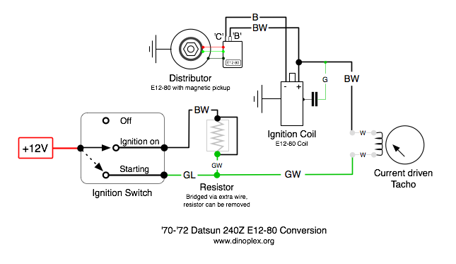 240z electronic ignition help - Page 2 - Ignition and ... on