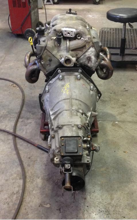 CD009 6M (350Z trans) with LS engine in a S30 - Drivetrain