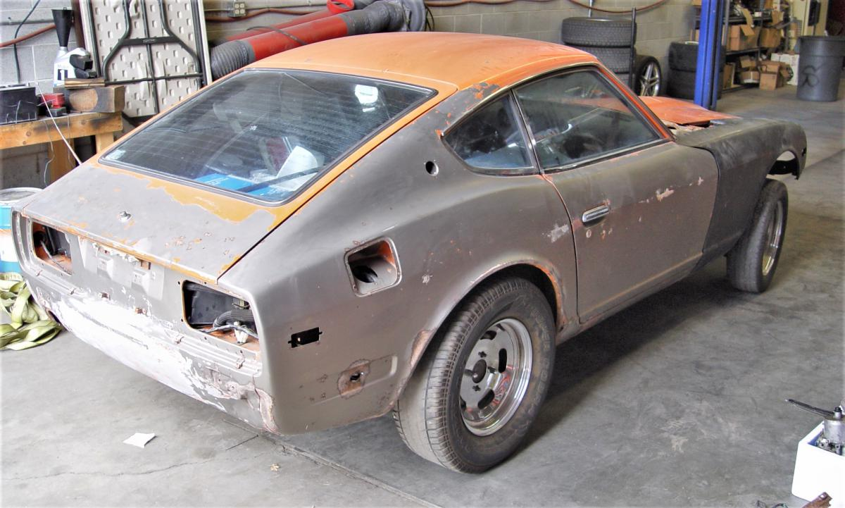 Project 1973 240z, LS/T56, S14 Suspension, Tube Chassis