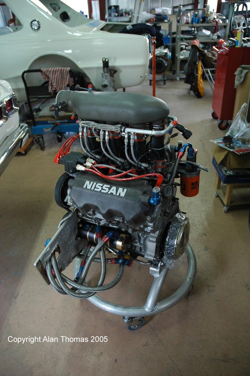 Image result for Nissan VG30 race engine