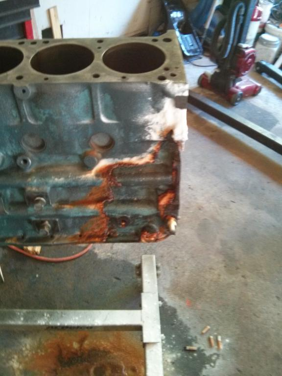 vinegar therapy - rust removal inside coolant passages - Cooling